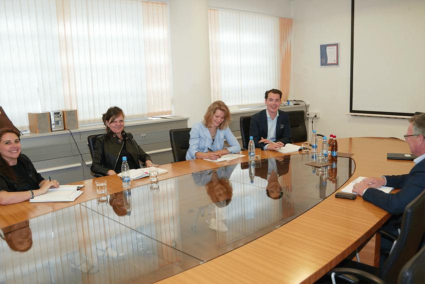 V maju smo na Območni obrtno-podjetniški zbornici Ljubljana Vič gostili ekipo strokovnjakov iz KPMG Nizozemska na temo krožnega gospodarstva v regiji.